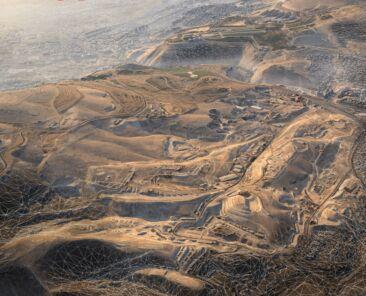3D-визуализация Дамаска (Сирия) от компании Vricon (Графика: Business Wire)